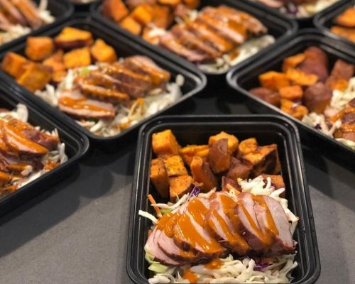 individually packed boxed meal catering packages tampa