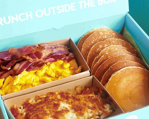 individually packed boxed meals brunch box