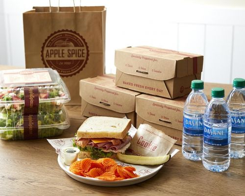 indivudully packed boxed meals