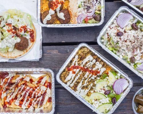 mediterranean austin food order family pack party box