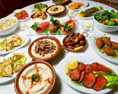 mediterranean catering carribean food order bulk