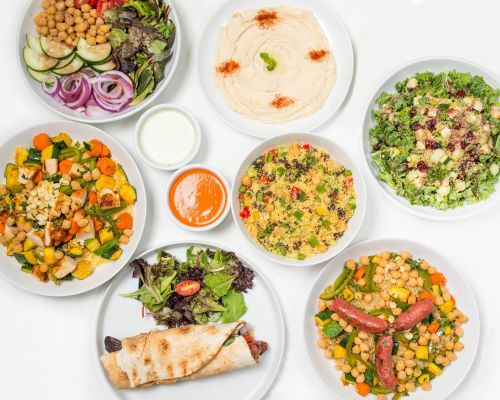 mediterranean catering service power bowls corporate