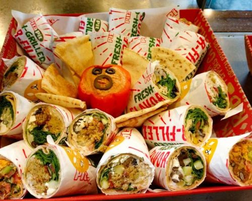 mediterranean food box meal package party catering