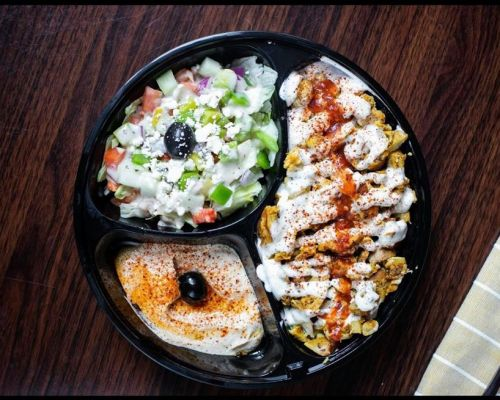 mediterranean food platter halal austin family meals