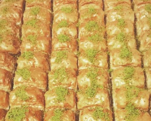 middle eastern caterers mediterranean dessert platters