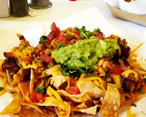nachos tacos mexican food catering