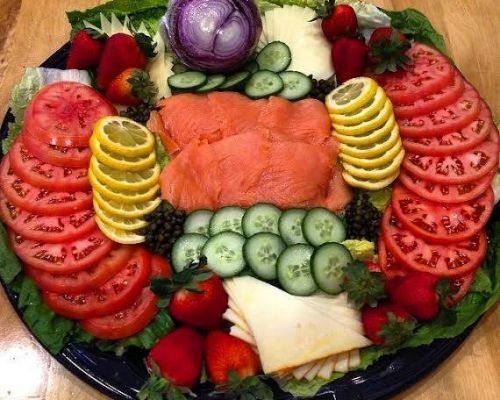 nova lux meat trays catering bethesda