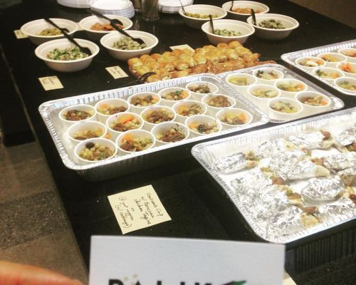 office catering mediterranean cuisine la team food delivery bulk