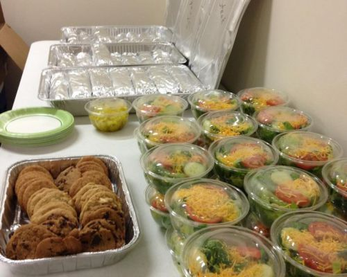 office catering team lunch delivery dallas
