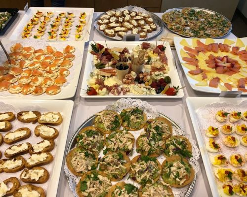 office catering team lunch order buffet sytle cater san francisco