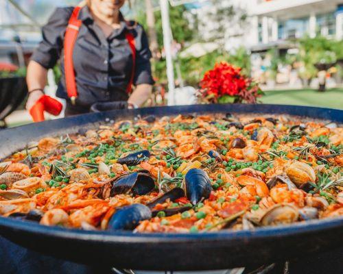 buffet paella catering