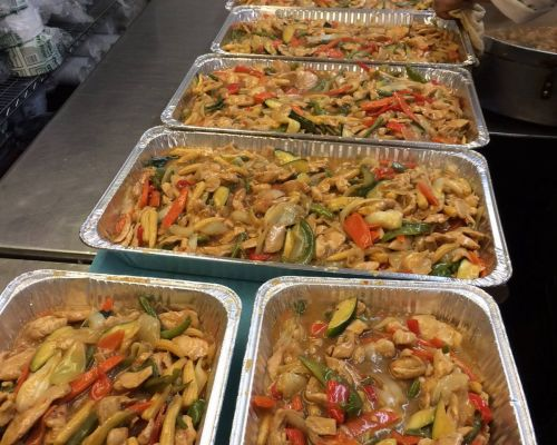 office lunch catering buffet