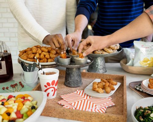 office party food ideas austin catering