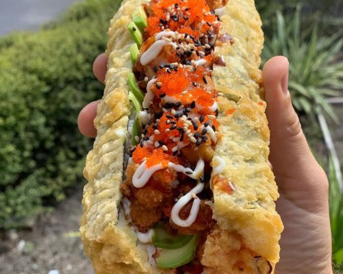order catering online sushi roll