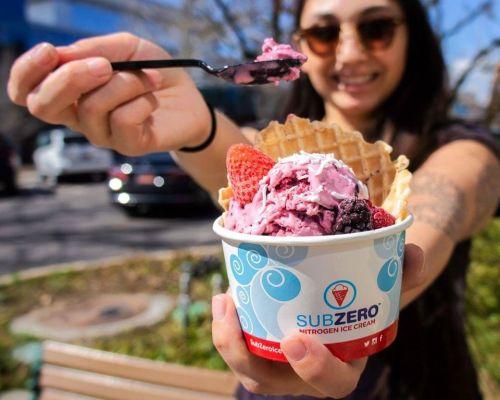 order company treat dessert ice cream