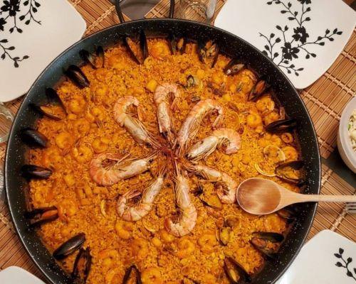 paella catering dallas spanish food