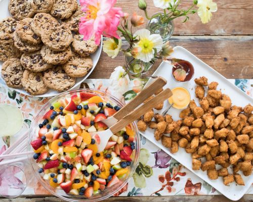 party catering food trays cedar park caterers