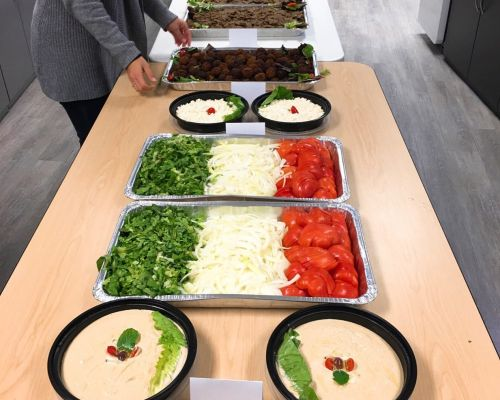 party catering packages group buffet set up washington
