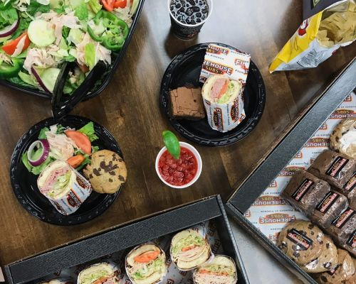 party catering social events food caterer stone park family meal packages