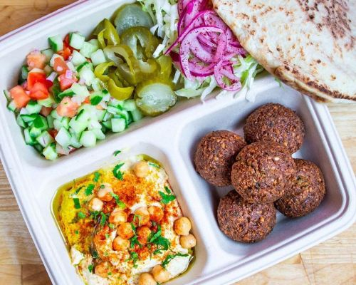 party platter mediterranean food