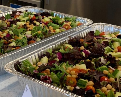 party trays corporate catering