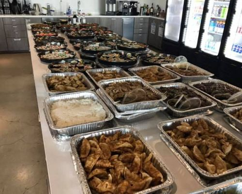 party trays event catering packages