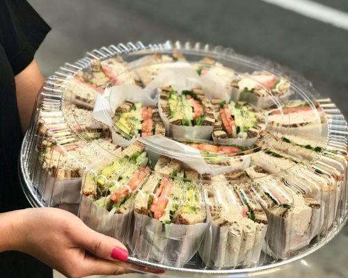 party trays grab-go meals