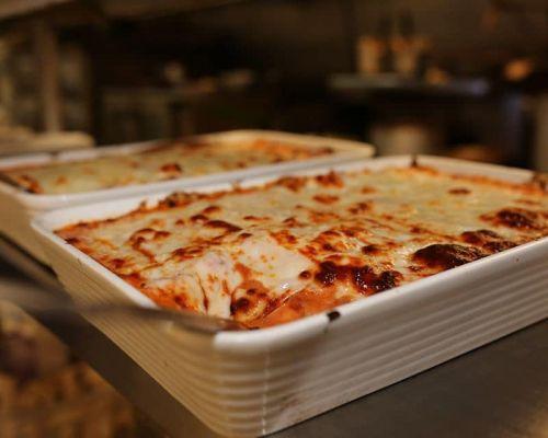 pasta tray italian food