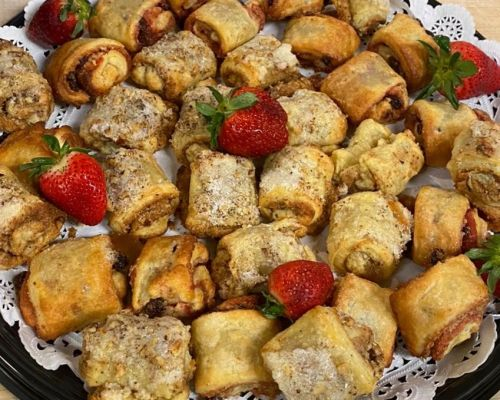 pastry platter breakfast catering