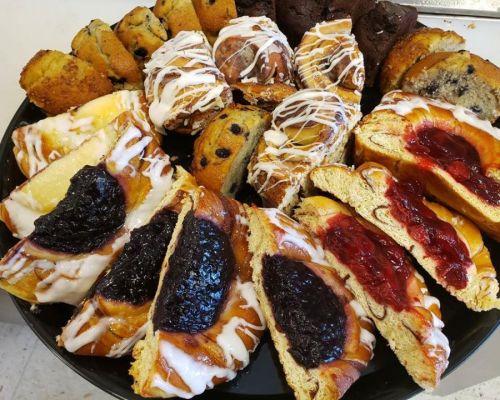 pastry platter team order food snack orlando