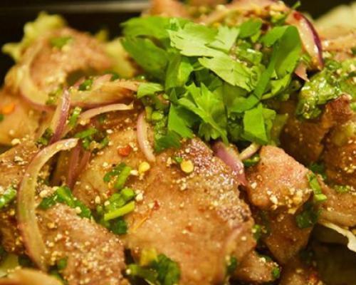 pineapple thai cuisine meal