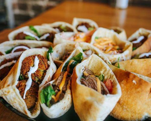 pita platter grab-go meals