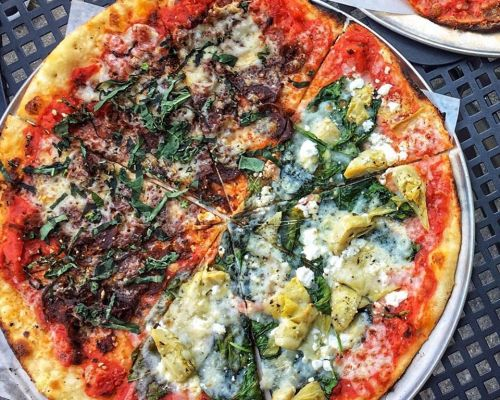 pizza catering family meal order food pacakage beverly hills