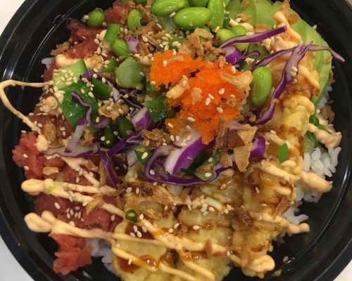 poke bowl japanese event corporate catering