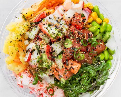 poke delish healthy salad