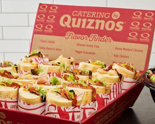 quiznos houston tx catering