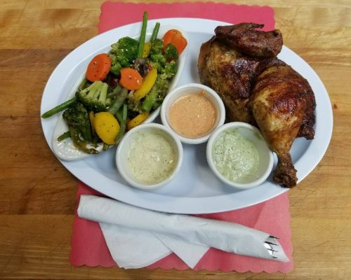 rotisserie chicken bbq catering cary