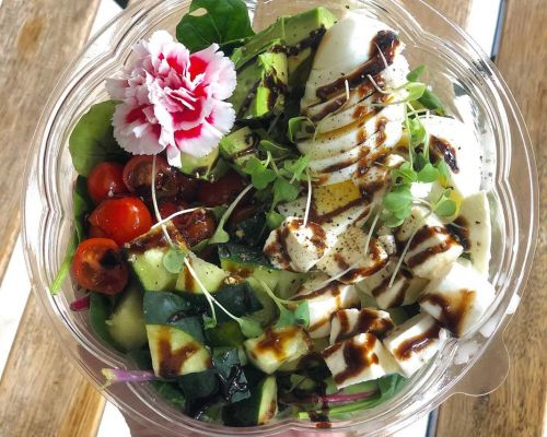 salad healthy catering office brunch party food