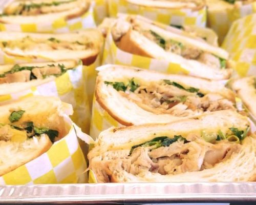 sandwich catering corporate caterers cary