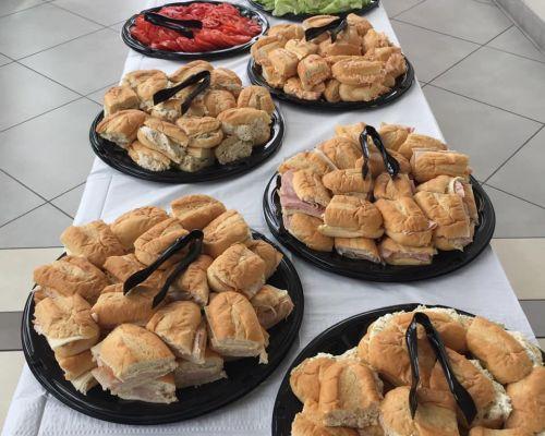 sandwich platter meals