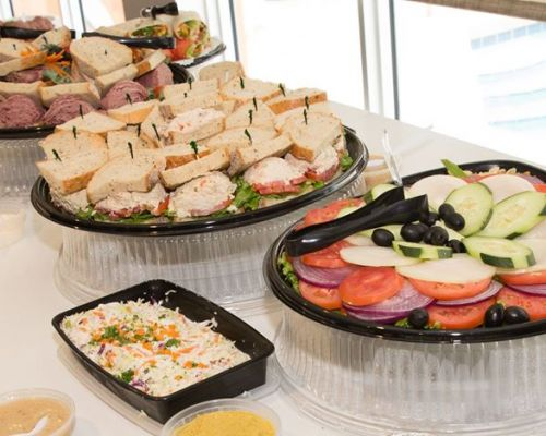 sandwich trays catering platter food