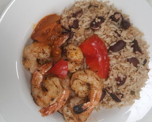 seafood caribbean catering