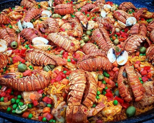 seafood platter catering company lunch party food order