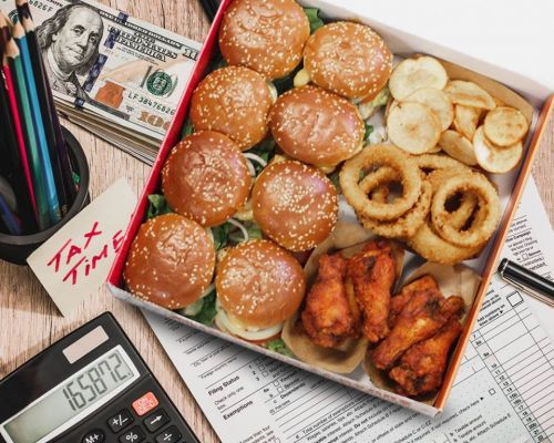 snack platter party burger lunch box