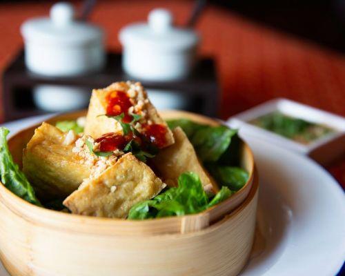 snack platter thai food