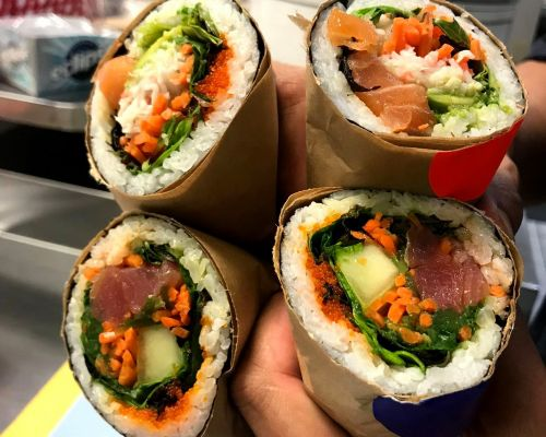 sushi catering best asian catering