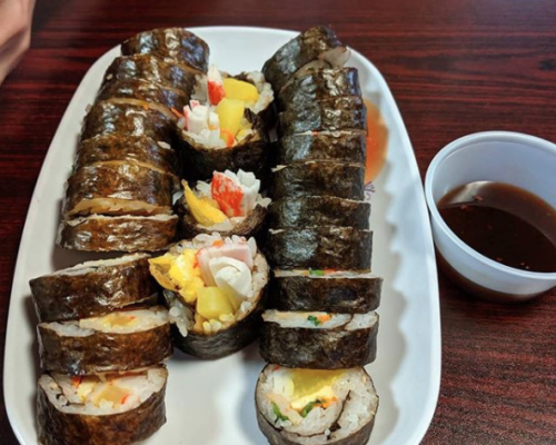 sushi catering food