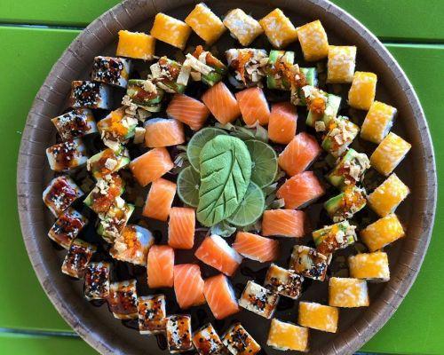 sushi catering platter box
