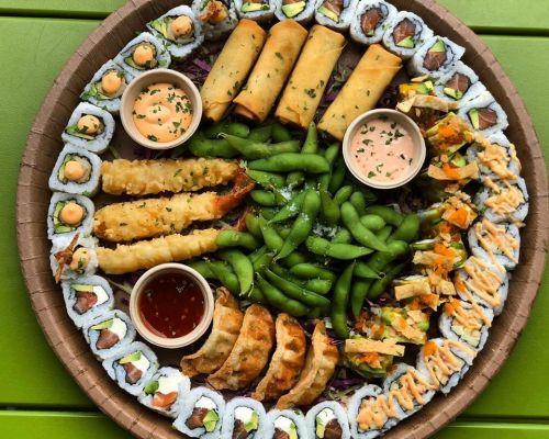 sushi yummy catering miami hallandale