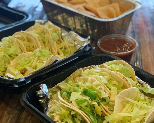 taco bar packages charlies on prior catering